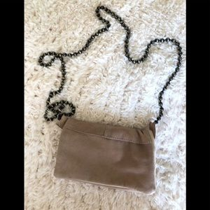 Freepeople nude clutch crossbody